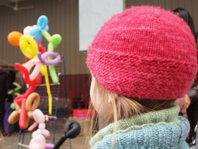 Captivated by balloon-art