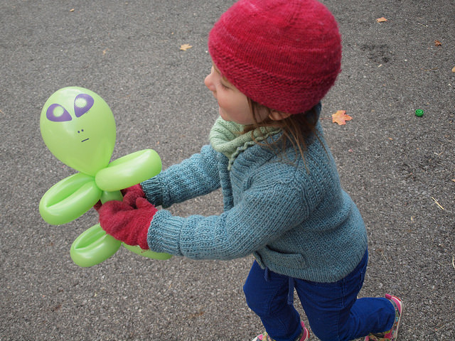In love with her alien.