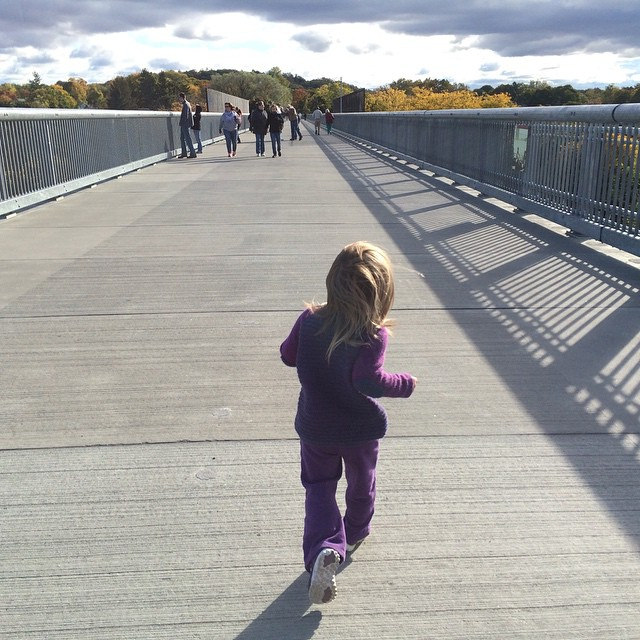 Running the Walkway, 2014