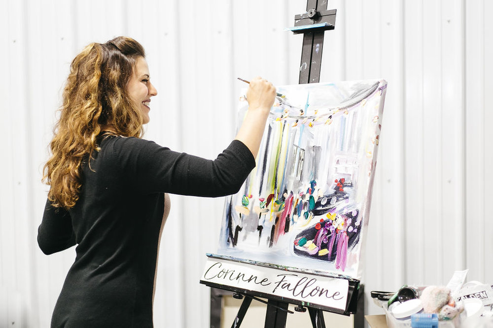 LIVE PAINTING -