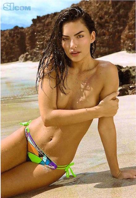 Neon bold floral print bikini bottoms