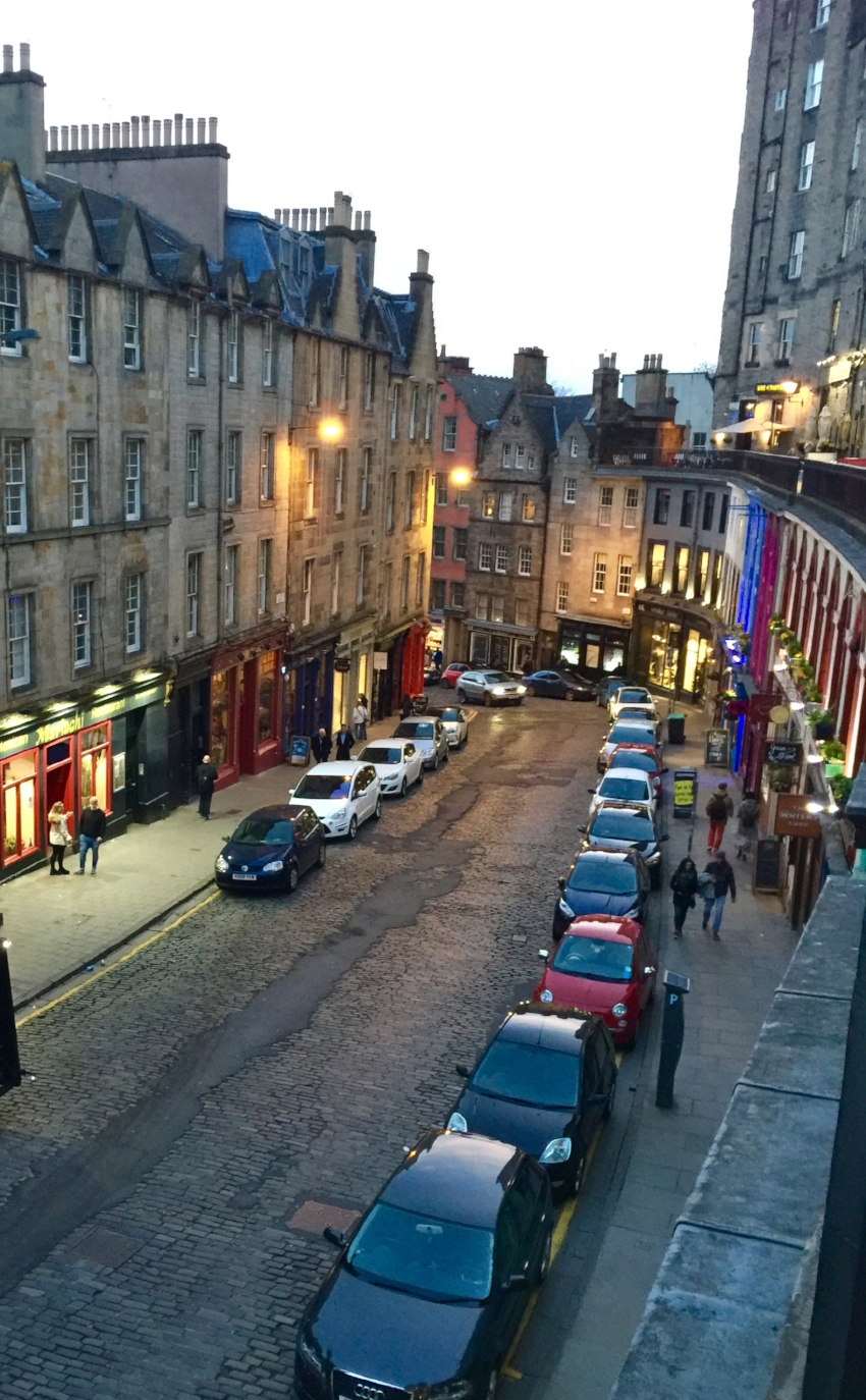 Royal Mile Evening