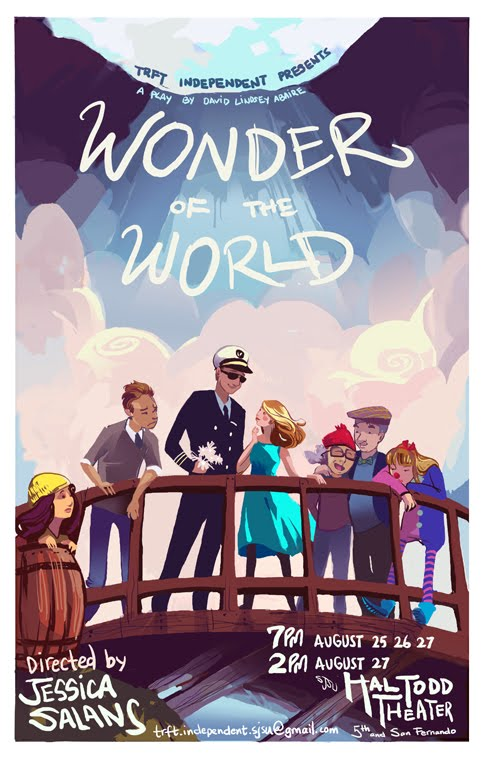 Wonder of the World, by David Lindsay-Abaire (poster II)