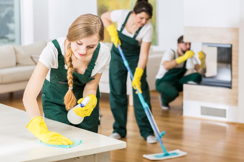 Our team will scrub your home from top to bottom! This is our most inclusive service.