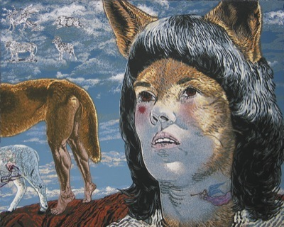 'A two-legged dingo stole Lindy's tears' All rights reserved Jazmina Cininas 2008