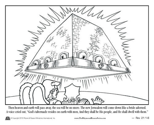 94 Coloring Pages Book Of Revelation