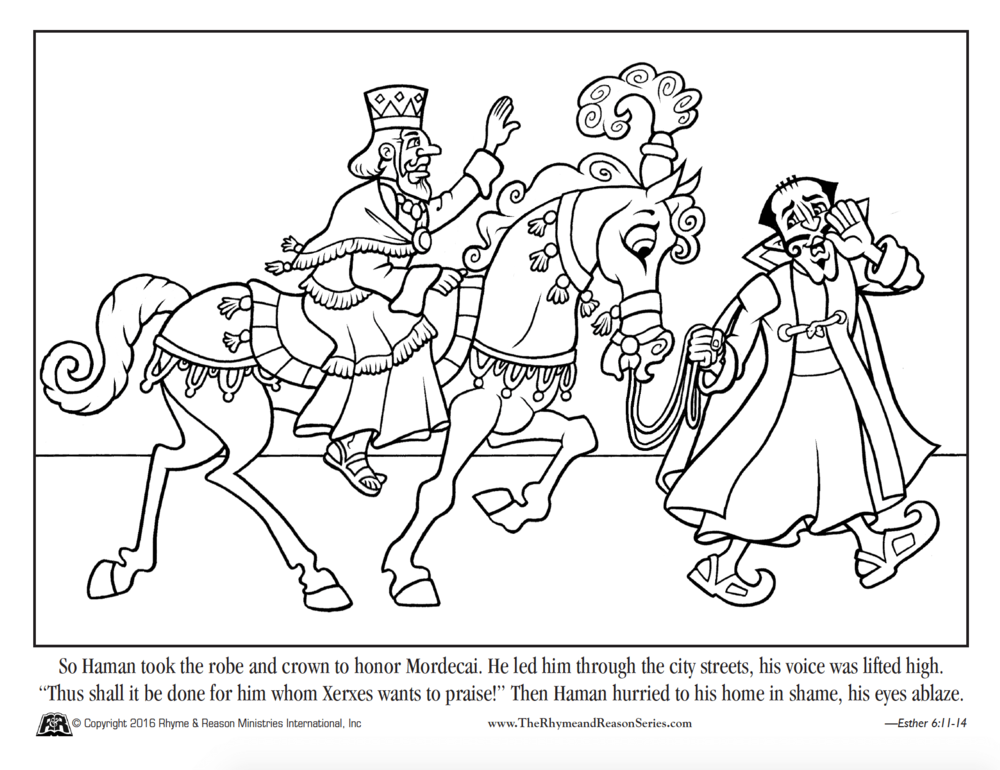 Esther Coloring Pages. Stunning Coloring Pages That You Can Print ...