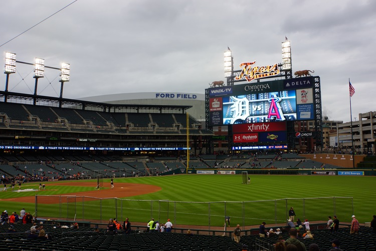 Welcome To Comerica Parkhome Of The Detroit Tigers