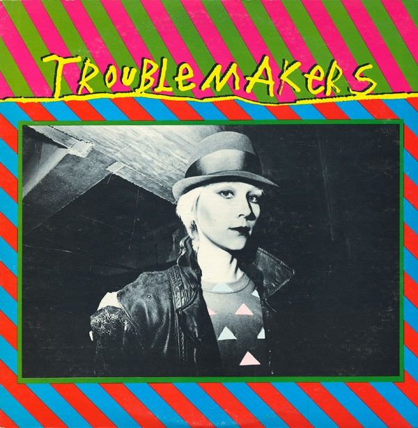 "Rover on the cover of the 1980 Warner Bros ""new wave"" compilation, Troublemakers."
