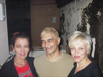 Gabi Berlin, Pat Smear, Lorna Doom.