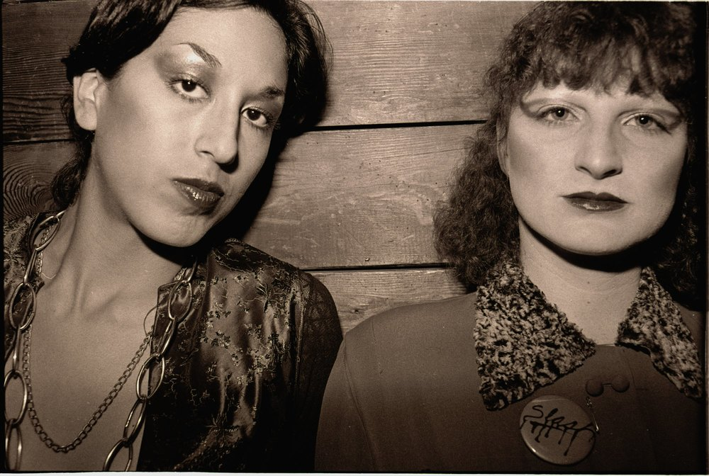 Alice Bag and Connie Clarksville, 1977 - photographer Michael Yampolsky - all rights reserved, used by permission.