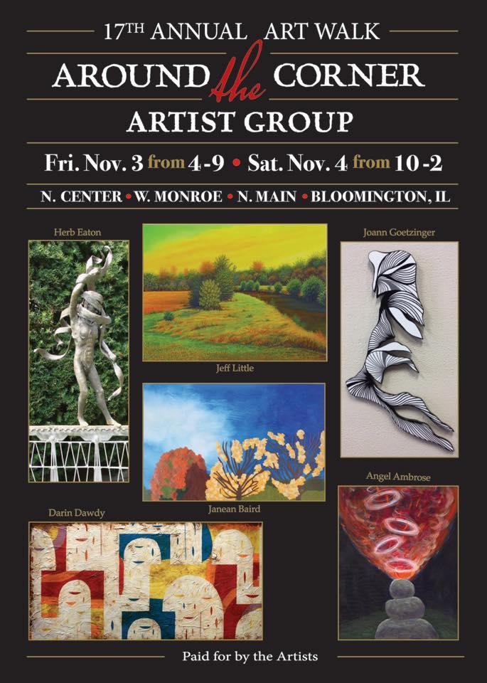 Around the Corner Art Group's 17 Year Post Card