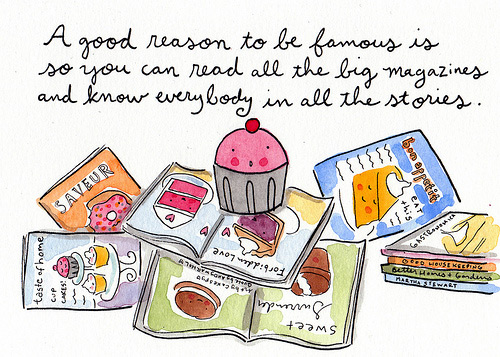 sweet art andy warhol quotes illustrated cupcakes jessie