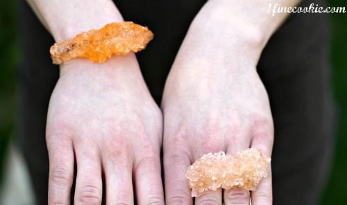 how to make edible rock candy jewelry cakespy