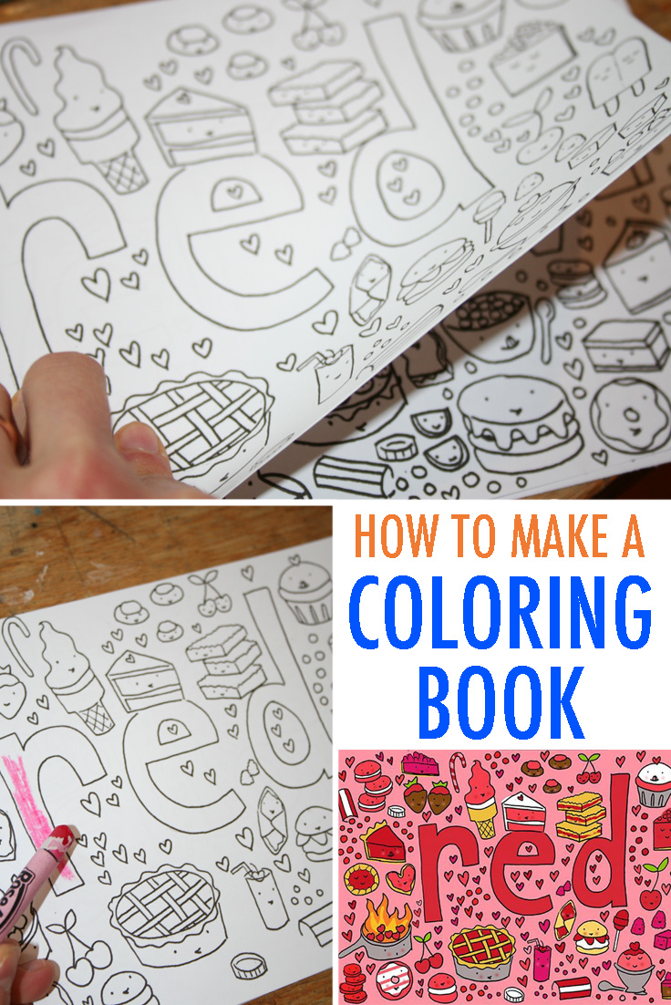 fun for kids and adults how to make coloring book pages cakespy here s a skill which will give you infinite delight create your own coloring book pages i wrote a post where i tell you exactly how to do it in style