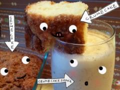 Crumb cake shake