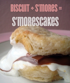 S'morescakes (s'more shortcakes)