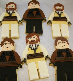 Lego Star Wars cookies