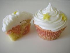 Battenberg cupcakes