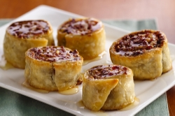 Cranberry orange baklava pinwheels