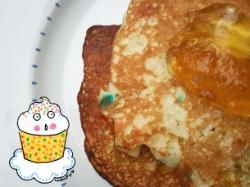 Funfetti cake mix pancakes