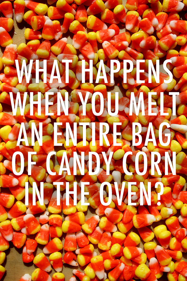 What Happens When You Melt An Entire Bag Worth Of Candy