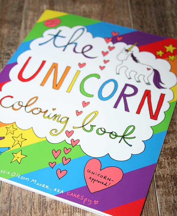 The Unicorn Coloring Book — CakeSpy