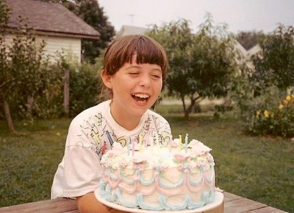 I've always enjoyed my birthday: case in point, me at age 8 or so