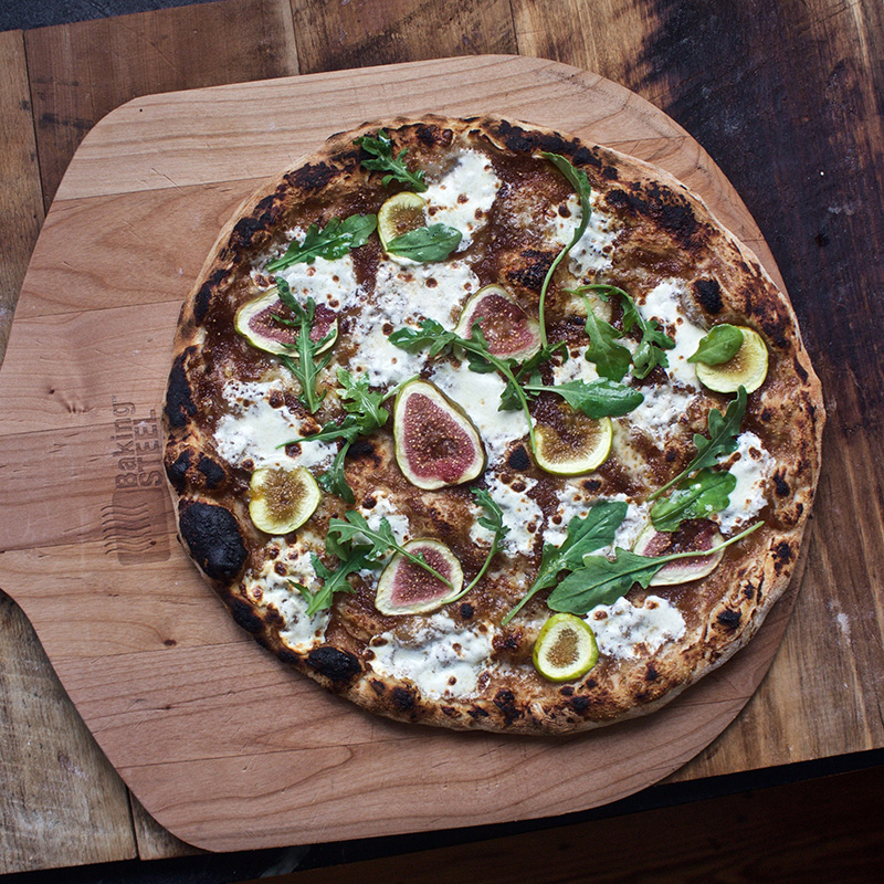 Fig pizza via Baking Steel. Link below, or click on the picture!