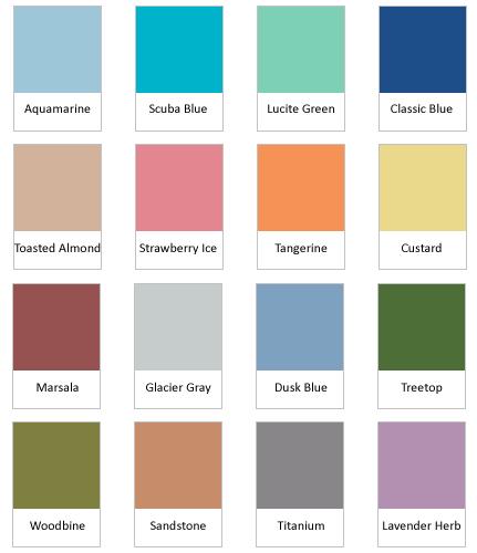 Pantone  2015 pavasario-vasaros paletė