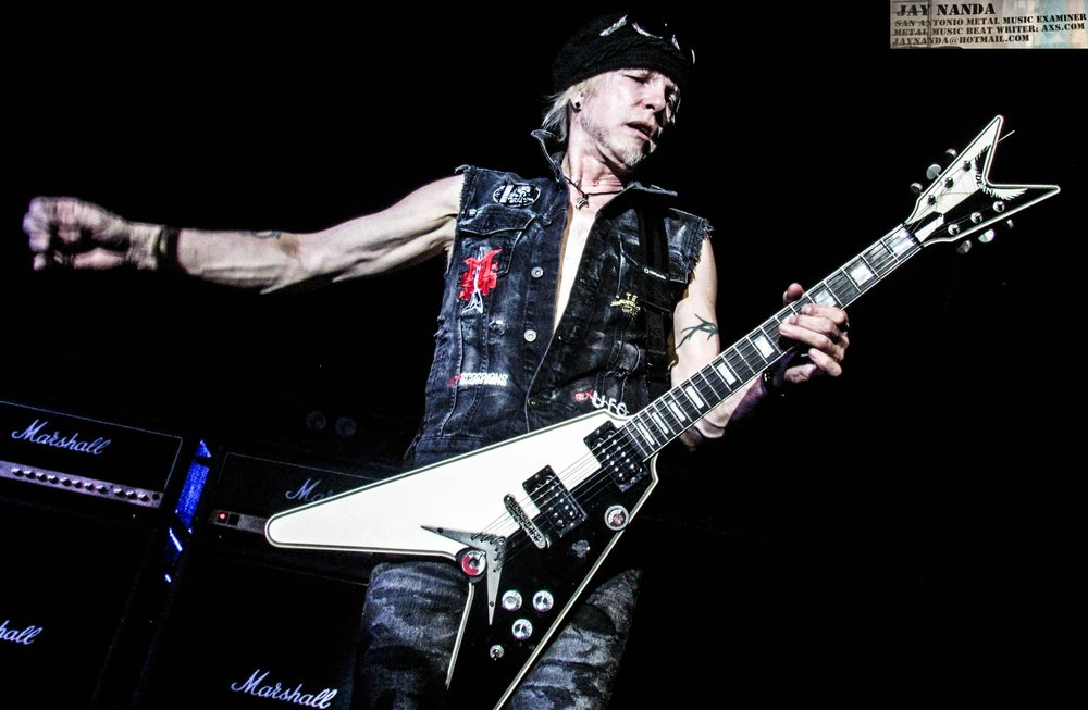 Schenker was making his first visit to the Alamo City since 2015, but he also made visits in 2012 and 2010 with his Temple Of Rock band.