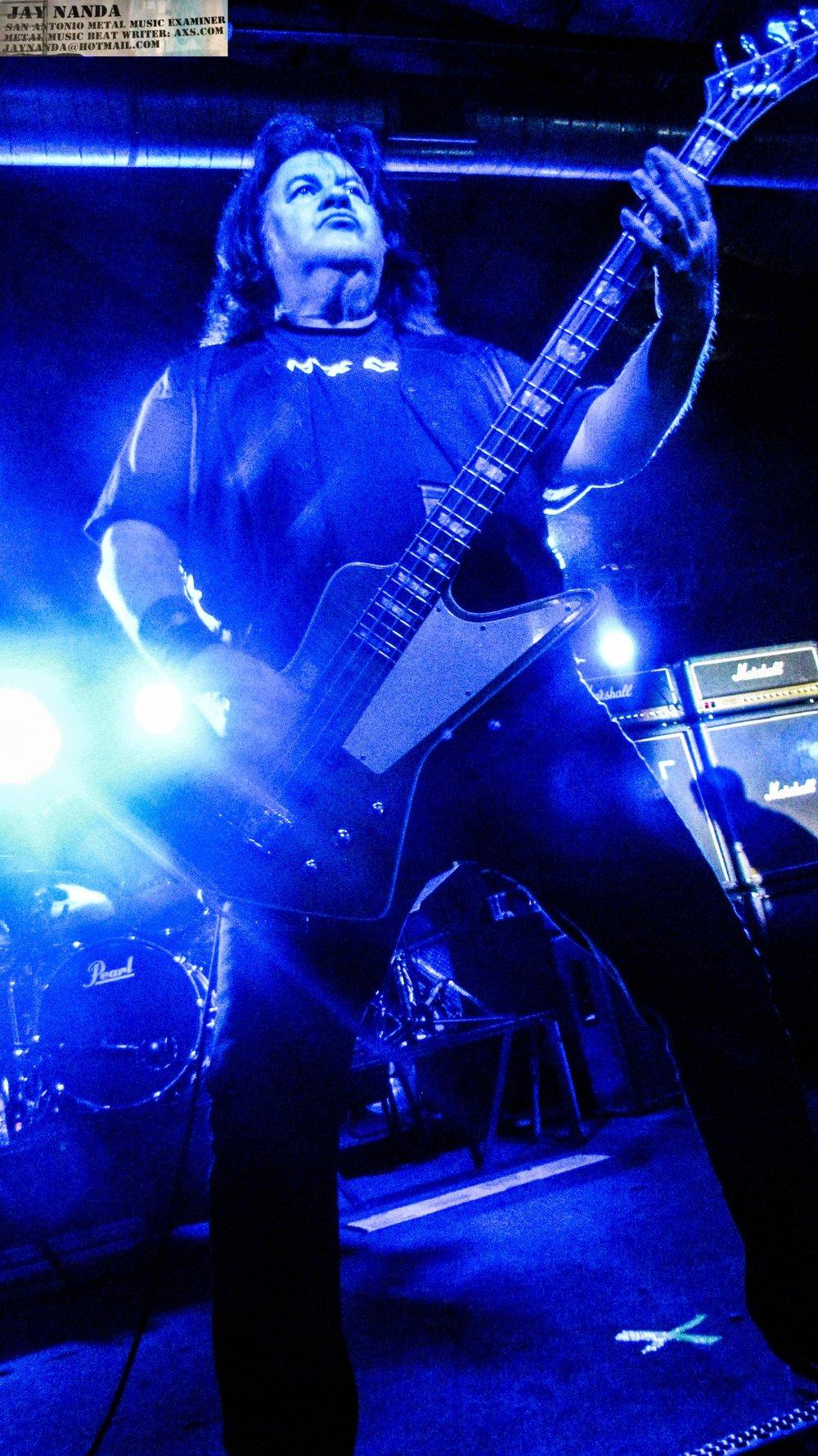 Glen rocks the bass.