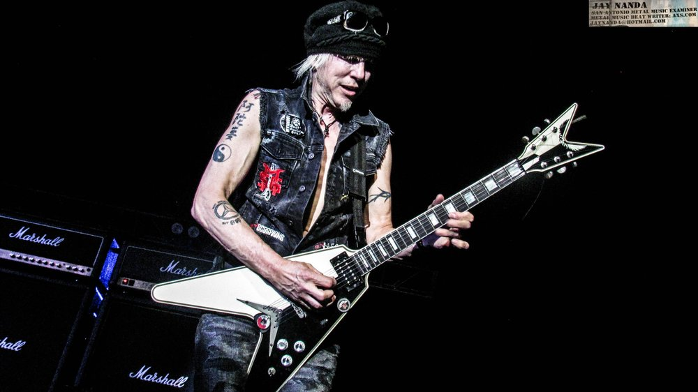 Schenker's previous visit to San Antonio in 2015 featured former Scorpions drummer Herman Rarebell and bassist Francis Buchholz, but the Fest marks a completely new lineup.