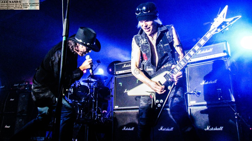 """Barden also joined Schenker on new track """"Messing Around."""""""