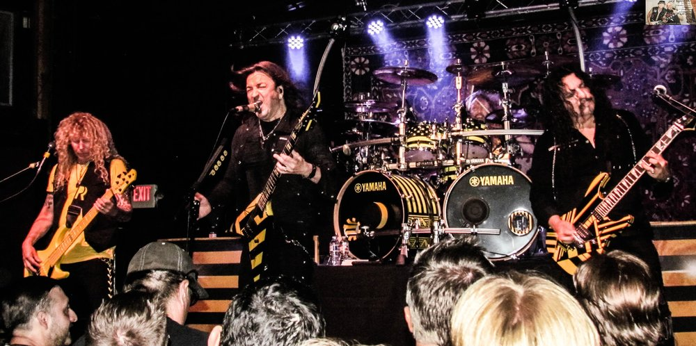 """Stryper is touring in support of """"God Damn Evil,"""" the title track's performance of which you can watch via the ATM Facebook Live link provided within this article."""