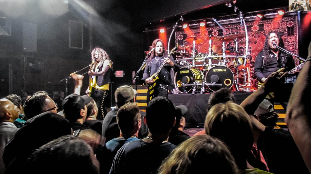 """Stryper played tunes from every album except 2005's """"Reborn."""""""