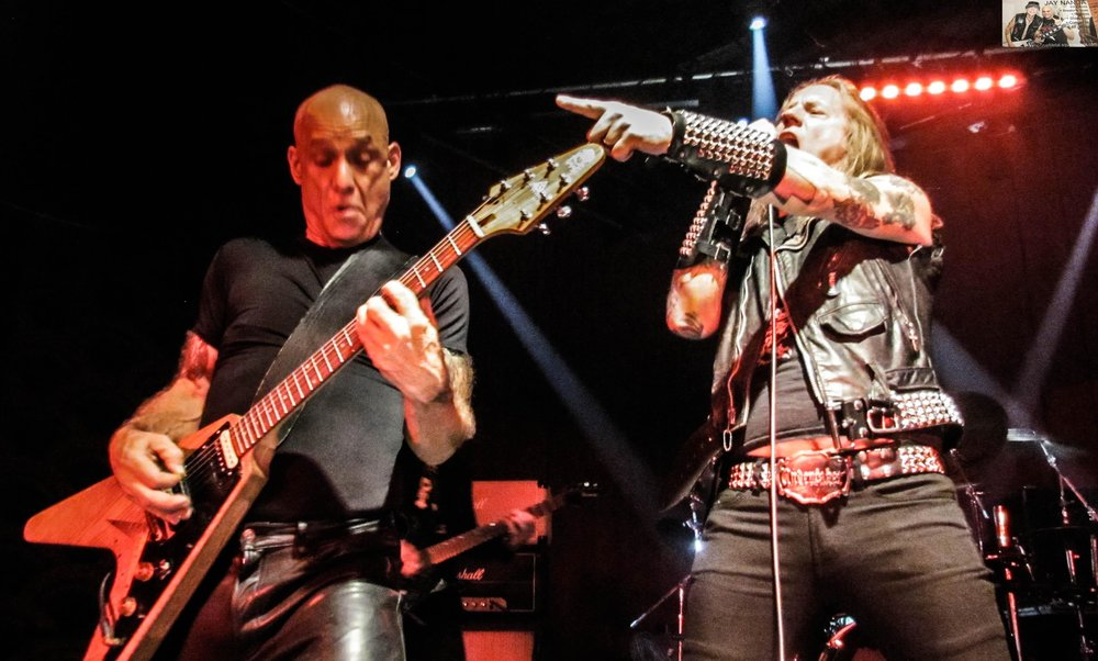 Catlin provides guitar work while Jason McMaster, singer of Watchtower, Dangerous Toys, Broken Teeth, Evil United and Ignitor, cranks out his vocals.