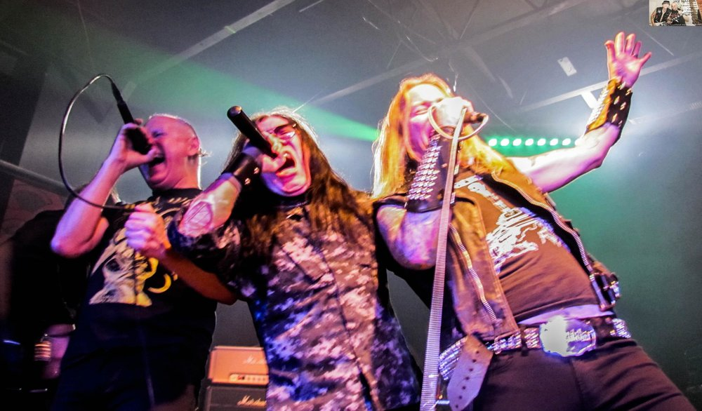 Soliz, Rivera and McMaster perform a scream trifecta.