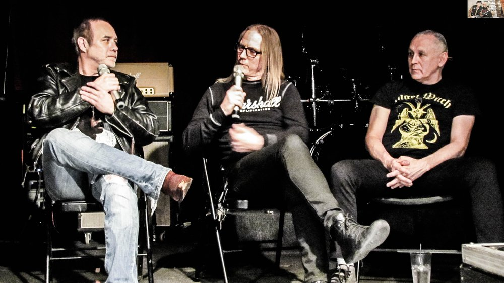 """Villareal, McMaster and Soliz discuss how the scene in the '80s led to San Antonio being known as the """"Heavy Metal Capital."""""""