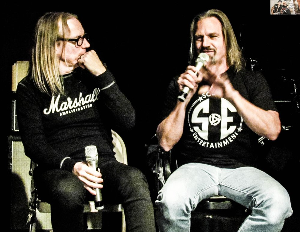 McMaster is intrigued as Bobby Jarzombek recounts how he became Halford's drummer.