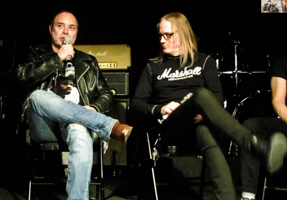 Villareal talks about how he helped form Motorhead tribute Martyrhead after his days in Seance ended while McMaster listens.