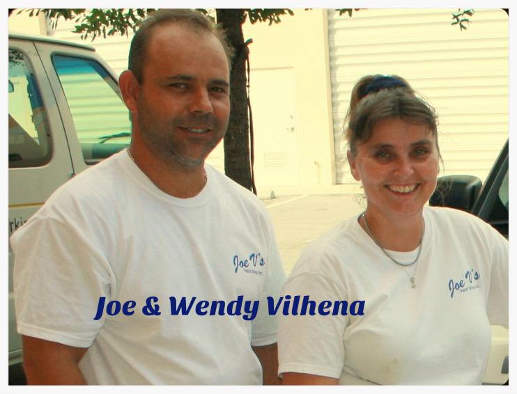Joe Vilhena and Wendy Vilhena