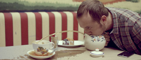 teapot blowing gag - Vodafone Like a Child Television commercial