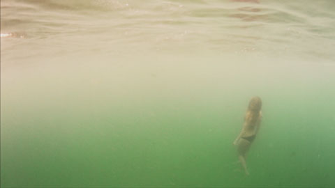 The end - Surf dive & ski Red Ocean Mystics film production, director of photography Toby Heslop