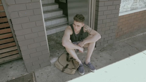 Waiting on the doorstep in new fashion - General Pants Fashion Video - Director Toby Heslop