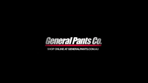 Logo lockup - General Pants Fashion Video - Director Toby Heslop