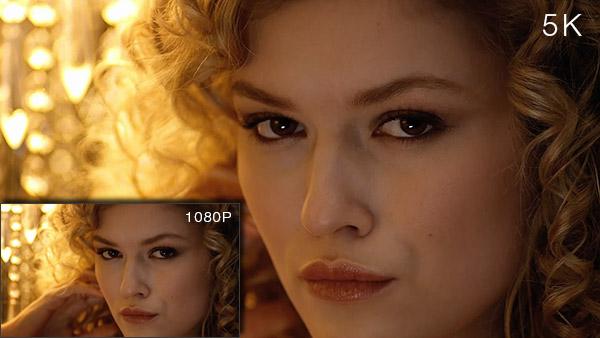 5K photo vs 1080P photo