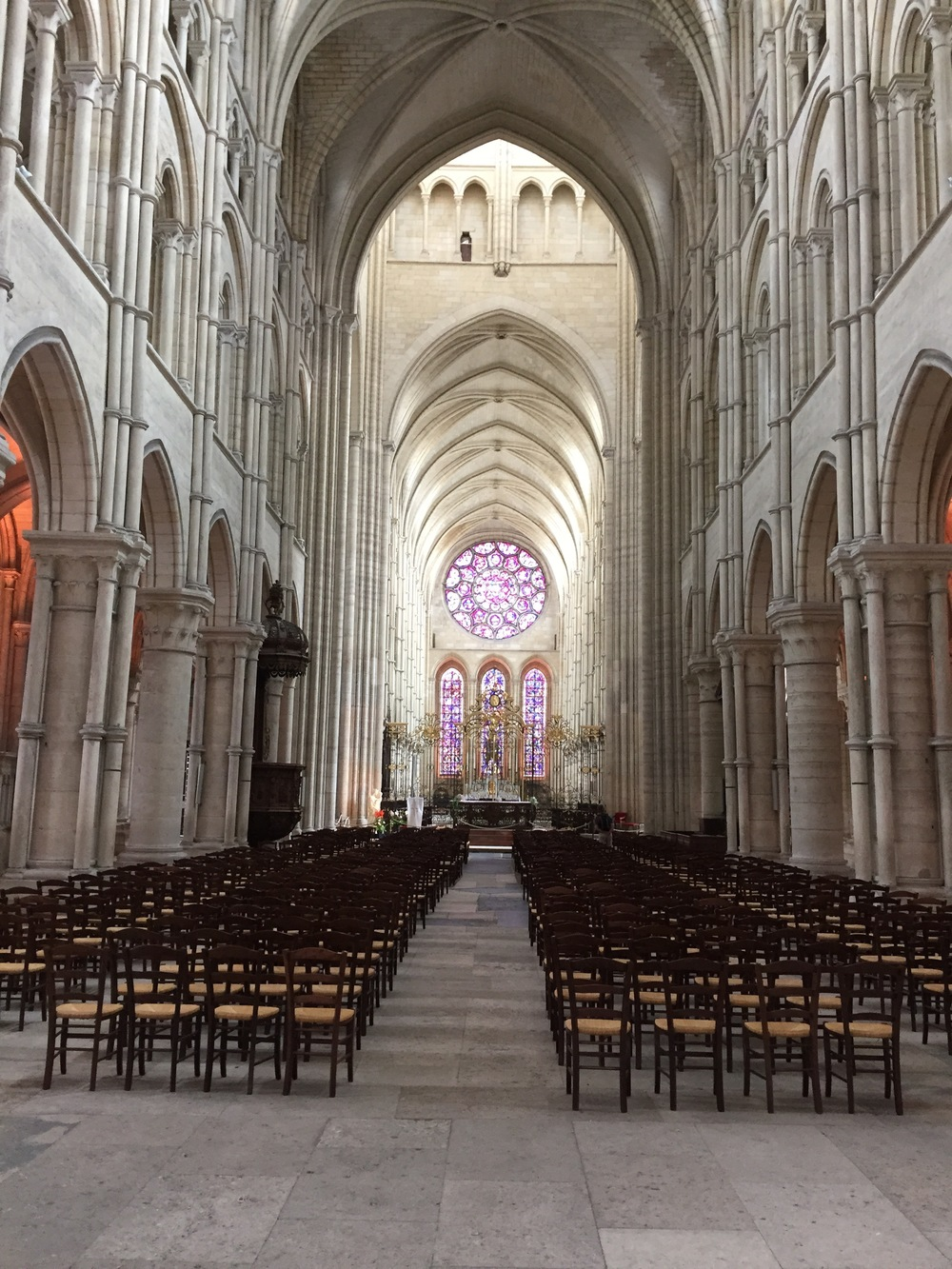 kathedraal Laon binnenkant