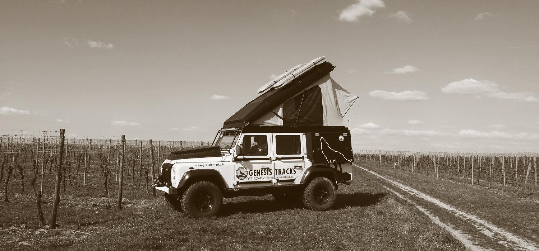 Icarus Rooftop Conversion Land Rover Defender Alu Cab Hubdach 1022