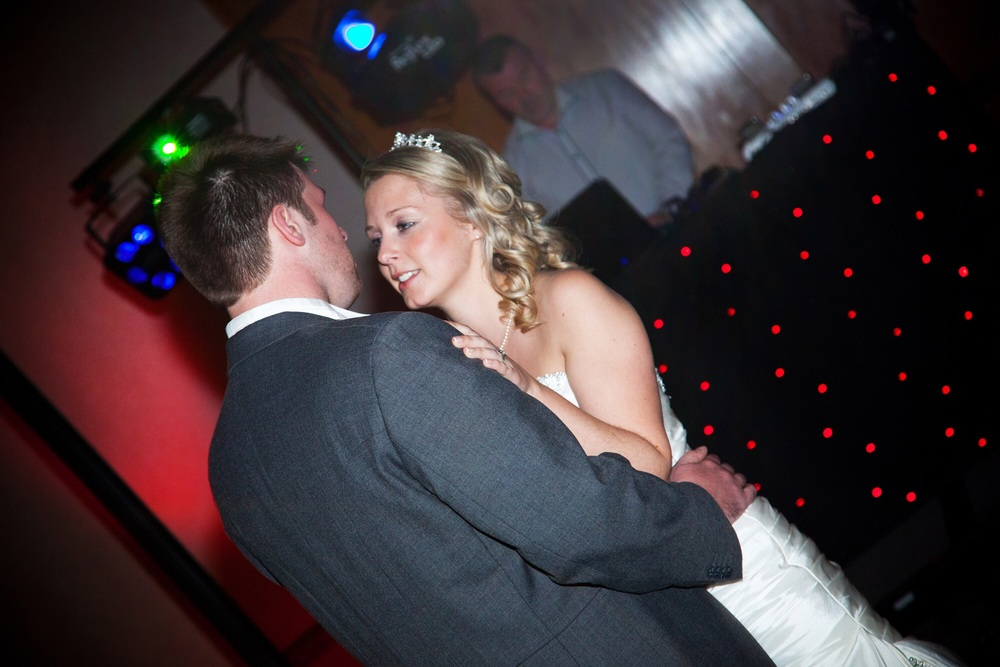First dance at Slaley Hall